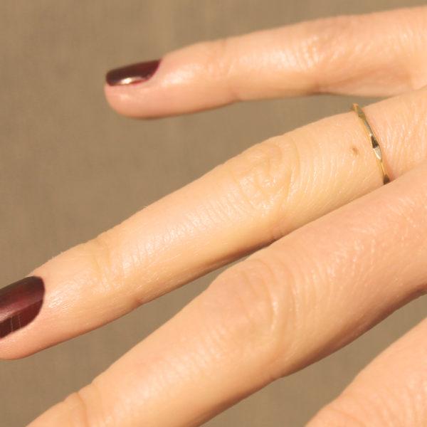 astrid c joaillerie anneau or faceté alliance or facette bague fait main lille anneau or sur mesure bague or sculptée anneau or géométrique