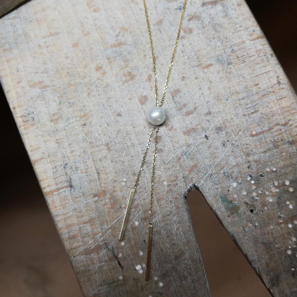 collier perle culture transformer bijou moderniser bijou