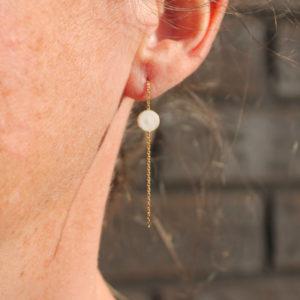 astrid c joaillerie boucle d'oreille or boucle d'oreille fait main lille BO longue or boucle d'oreille lille boucle d'oreille sur mesure boucle d'oreille étoile boucle d'oreille porcelaine boucle d'oreille calixte