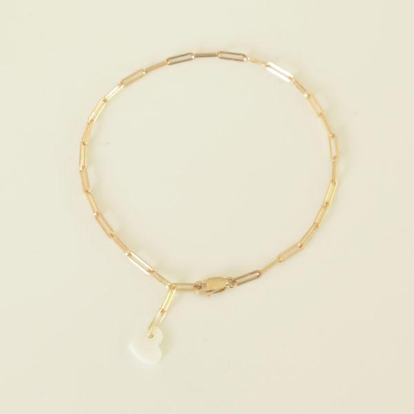 bracelet maille rectangle bracelet coeur porcelaine bracelet or coeur bracelet coeur hersende