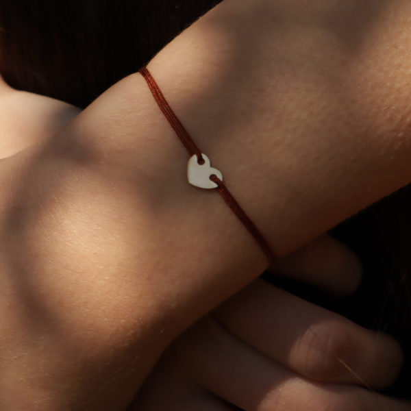 bracelet coeur or 18 carats bracelet coeur lien bracelet or pas cher bracelet adolescente bracelet petite fille bracelet communion